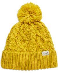 Rella | Cuffed Pom Hat | Lyst