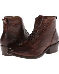 Frye Carson Lace Up - Lyst