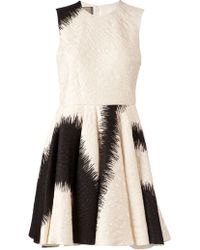Giambattista Valli Printed Flared Dress - Lyst