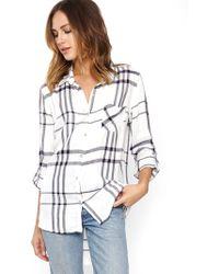 Thread & Supply | Malibu Pier Plaid Button Up Shirt | Lyst