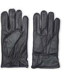 Dockers Black Lambskin Gloves - Lyst