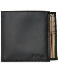 Paul Smith Multi-Stripe Billfold Wallet - For Men - Lyst