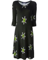 Samantha Sung Flower Print Dress - Lyst
