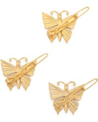 Dauphines of New York - Daydream Barrette Set - Gold - Lyst