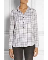 Splendid Hayes Plaid Cotton Shirt - Lyst