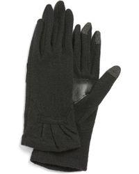 Echo - 'touch - Ruffle' Tech Gloves - Lyst
