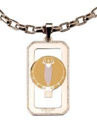 Vionnet Necklace gold - Lyst