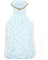 Wool And The Gang - Sleeveless Neck Chain Knit - Lyst
