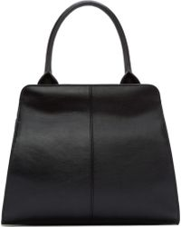 McQ by Alexander McQueen Black Leather Deysi Bag - Lyst