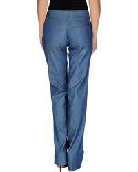 Dolce & Gabbana Denim Trousers - Lyst