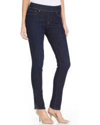Levi's Levis® Skinny Perfectly Slimming Pull-On Pants, Odyssey Wash - Lyst