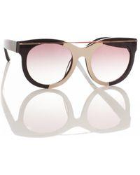 Suno Linda Farrow X Sunglasses - Lyst