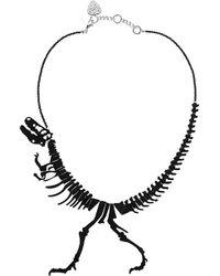Tatty Devine Dinosaur Necklace - For Women - Lyst