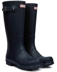 Hunter Mens Original Tall Wellington Boots - Lyst