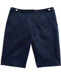 Jones New York - Sateen Bermuda Shorts - Lyst
