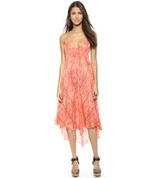 Free People Knot For You Slip - Clementine orange - Lyst
