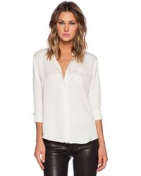 Theory Perfect Modern Blouse - Lyst