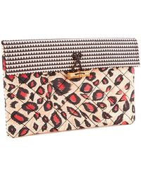 Maison Scotch - Women's Printed Clutch - Lyst