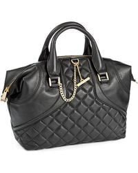 Calvin Klein Quilted Leather Bag - Lyst