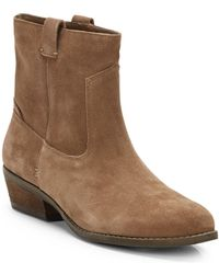 Dv By Dolce Vita Judd Suede Ankle Boots - Lyst