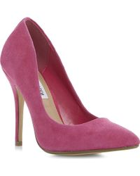 Steve Madden Galleryy Sm Pointed-toe Heeled Court Shoes - Lyst