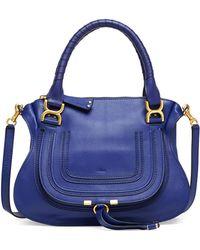 Chloé Marcie Medium Satchel Bag - Lyst