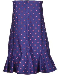 Viktor & Rolf Short Dress purple - Lyst