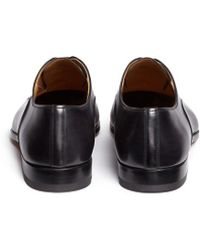 Magnanni | Toe Cap Six Eyelet Leather Oxfords | Lyst