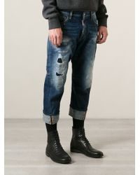 DSquared2 Loose Fit Jeans - Lyst