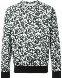 Marc Jacobs | Palm Print Sweatshirt | Lyst