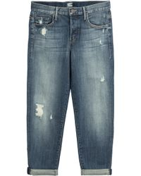 Mother The Loosey Cropped Jeans - Lyst