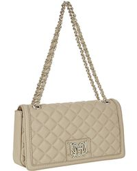 Love Moschino Medium Chain Fold Over Bag - Lyst