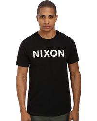 Nixon Code S/S Tee - Lyst