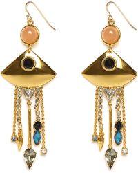 Lizzie Fortunato Mexico Fringe Earrings - Lyst
