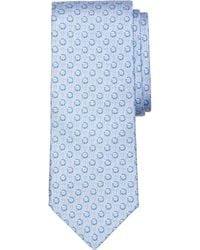 Brooks Brothers Anchor Print Tie - Lyst