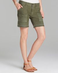 Citizens Of Humanity Shorts Leah High Rise in Fatigue - Lyst