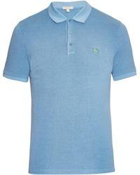 Burberry Brit - Cassius Cotton-Piqué Polo Shirt - Lyst