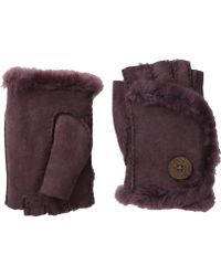 Ugg Mini Bailey Fingerless Glove - Lyst