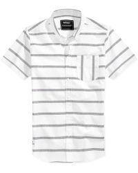 Wesc Avon Slim-Fit Shirt white - Lyst