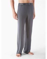 Calvin Klein Underwear Body Modal Pajama Pant gray - Lyst
