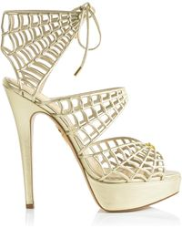 Charlotte Olympia Caught In Charlotte'S Web - Lyst