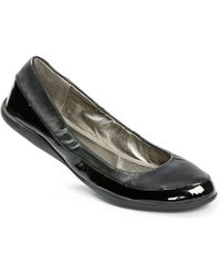 Me Too Heart Leather Flats - Lyst