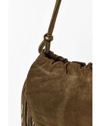 Ecote - Pleated Fringe Crossbody Bag - Lyst