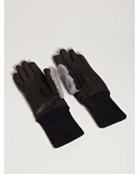 Rick Owens | Mens Mink Gloves | Lyst