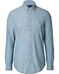 Ralph Lauren Blue Label Cotton Denim Shirt - Lyst
