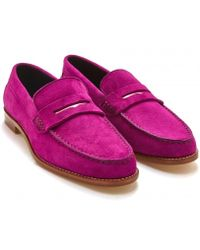 Equipment - Meandher Valentina Penny Loafer - Lyst