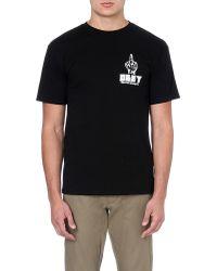 Obey Propaganda Bird Tshirt Black - Lyst