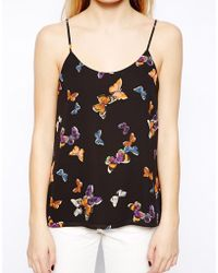 Oasis Butterfly Cami Top - Lyst