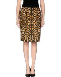 Giambattista Valli Knee Length Skirt - Lyst