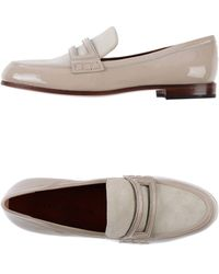 Marc By Marc Jacobs Beige Moccasins - Lyst